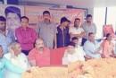 नगर विकास मंत्री और विधायक सुरेश कुमार शर्मा द्वारा सिकंदपुर रोड में सड़क एवं नाला निर्माण का शिलान्यास किया।