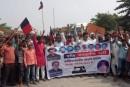 गजपा के 30 कार्यकर्ताओं के ऊपर नामजद एवं 180 अज्ञात पर FIR.