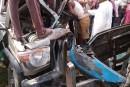भीषण सड़क दुर्घटना में 2 की मौत।