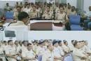 SSP मनोज कुमार ने जिले के सभी आला अधिकारियों के साथ की क्राइम मीटिंग।