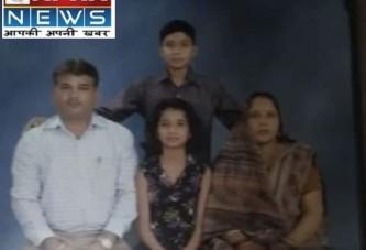 दिल्ली में पति-पत्नी और बेटी का कत्ल।