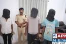 हथियार के साथ लुटेरों को किया गया गिरफ्तार।