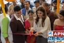 अभिनेत्री रवीना टंडन मुजफ्फरपुर में.