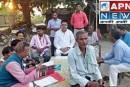 रैली को लेकर विभिन्न पंचायतों में हुई बैठक।