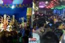 नरकटियागंज: माँ दुर्गा के भक्तो और सर्द्धालुओ के लिए भंडारा का आयोजन.