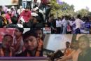 मुज्ज़फ्फरपुर: विवि में फ़ीस की बढ़ोतरी के खिलाफ़ बीएड के छात्रों ने किया अनशन।