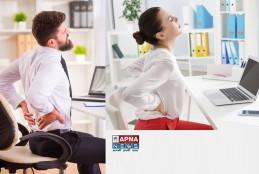 पीठ और गर्दन में दर्द: 9 घंटे ऑफिस में कुर्सी पर इस तरह बैठे।