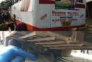 NH 77 में हुआ बड़ा हादसा- मौके पर 2 लोगों की मौत